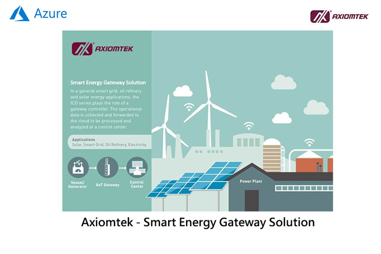 Axiomtek Smart Energy Gateway Solution
