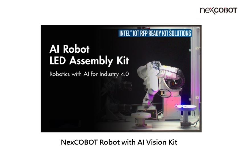 NexCOBOT Robot with AI Vision Kit