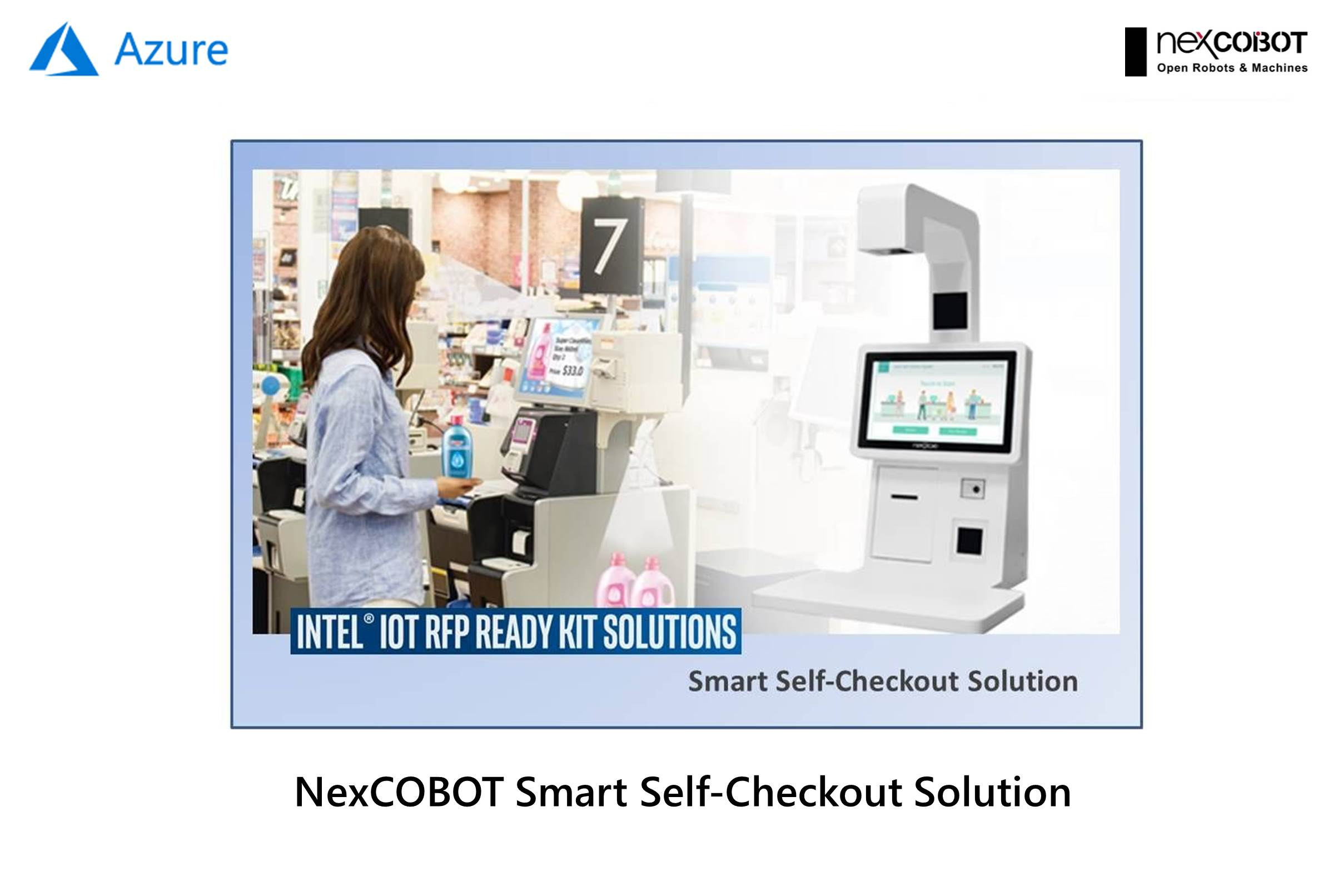 NexCOBOT Smart Self-Checkout Solution