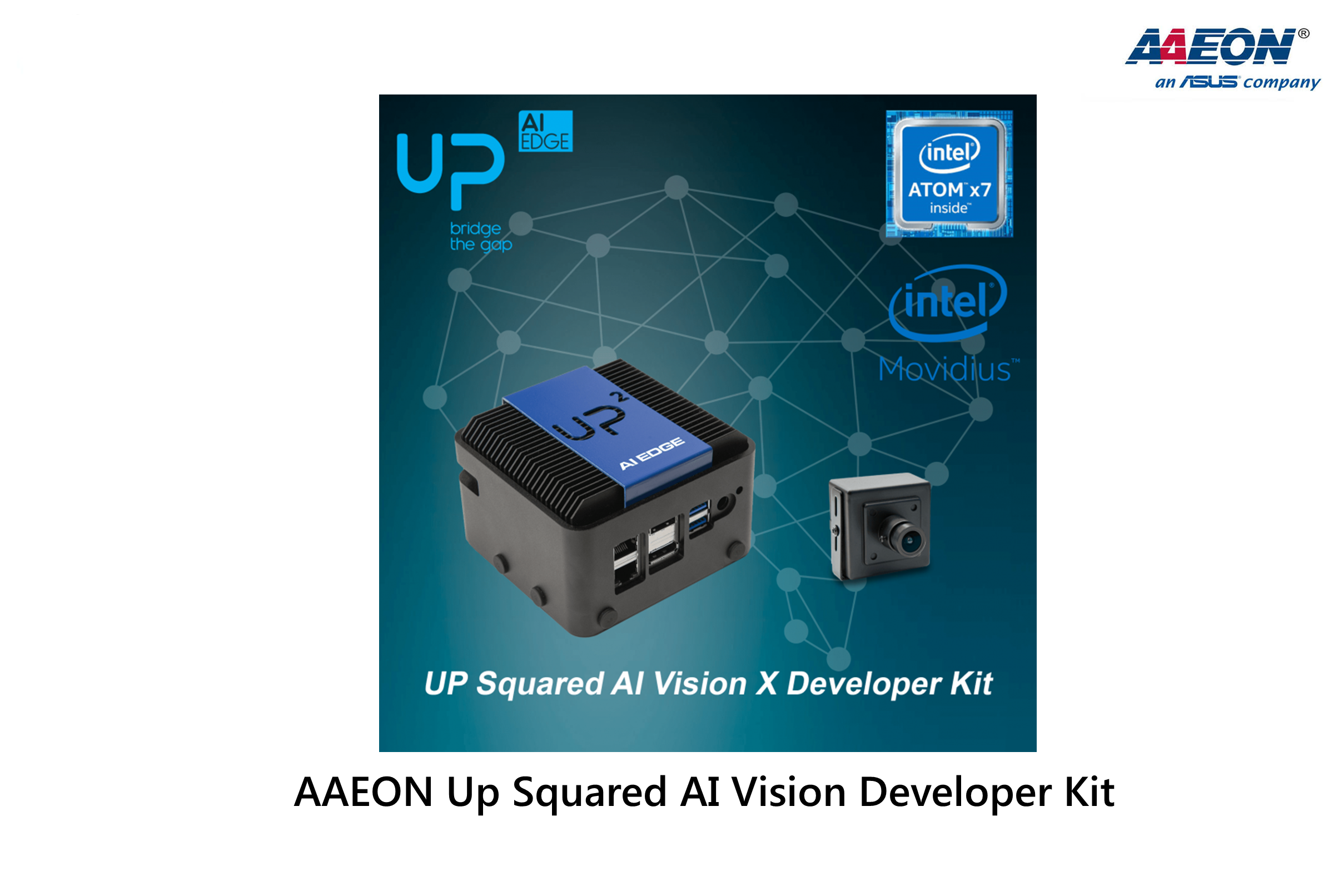 AAEON Up Squared AI Vision Developer Kit
