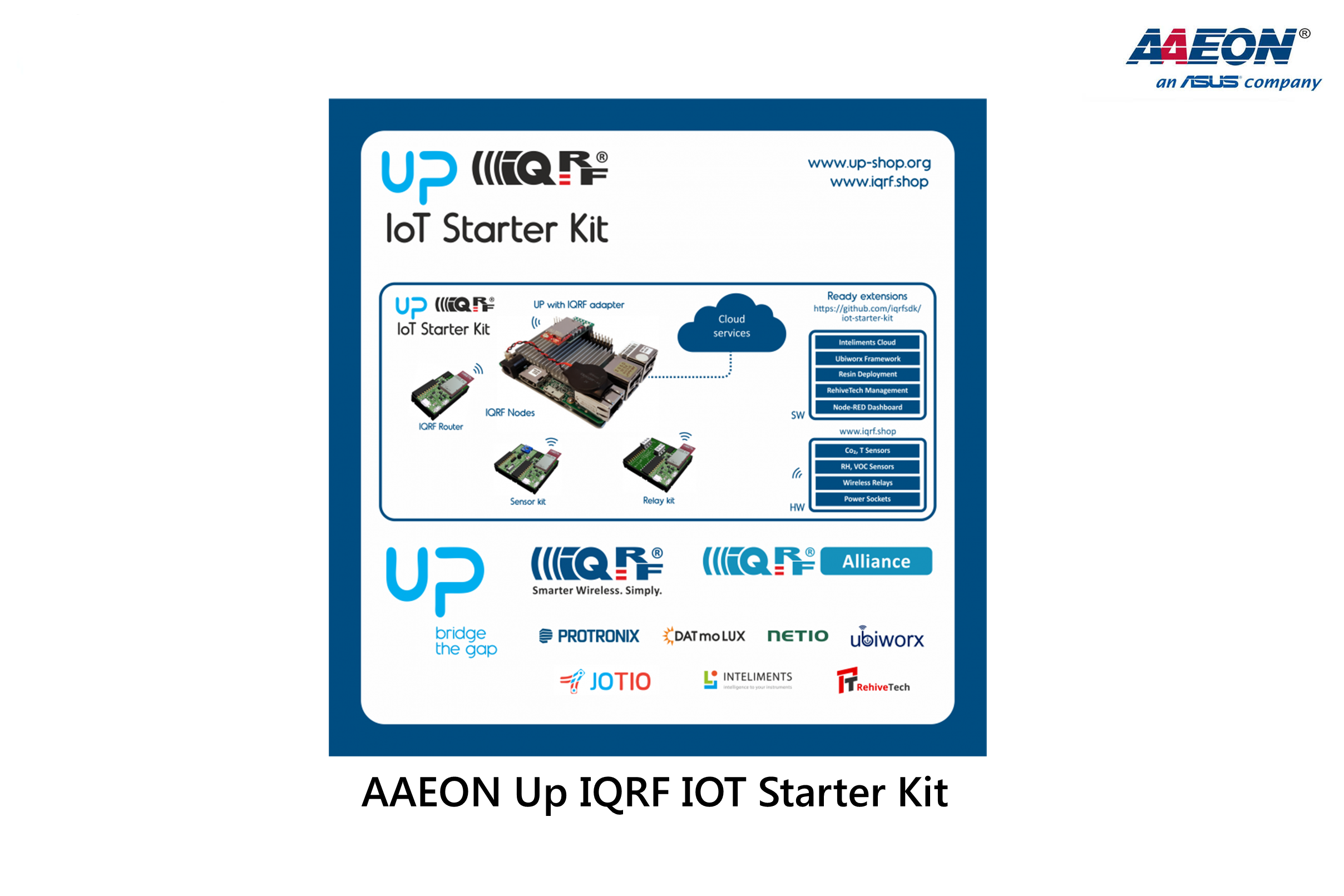 AAEON Up IQRF IoT Starter Kit