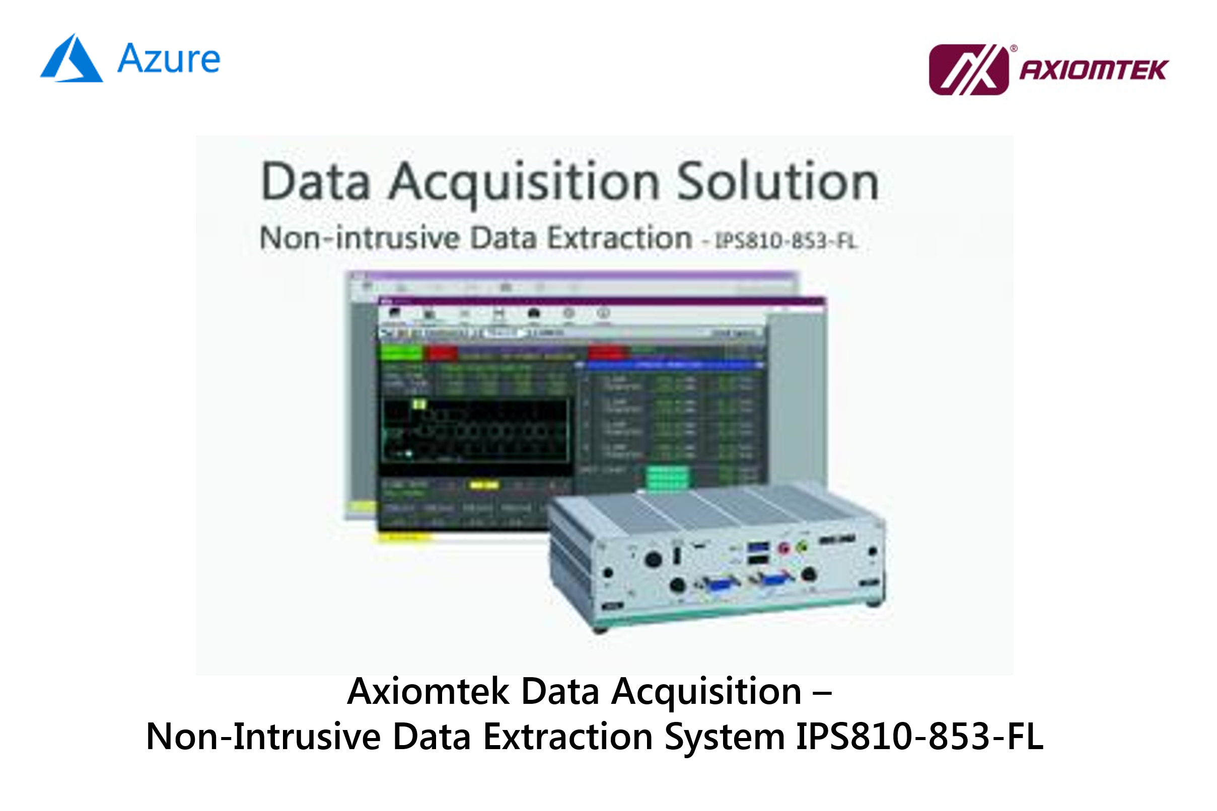 Axiomtek Non-intrusive data extractor
