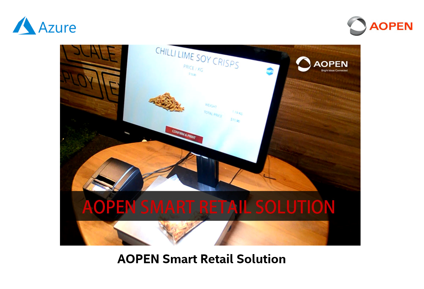 AOPEN Smart Retail Solution onboard